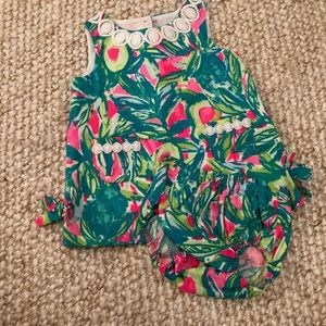 Lily Pulitzer dress and bloomers